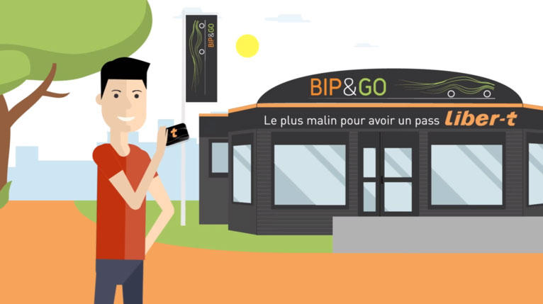 Electronic toll agency Bip&Go